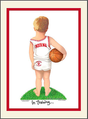 Indiana In Training Basketball Player