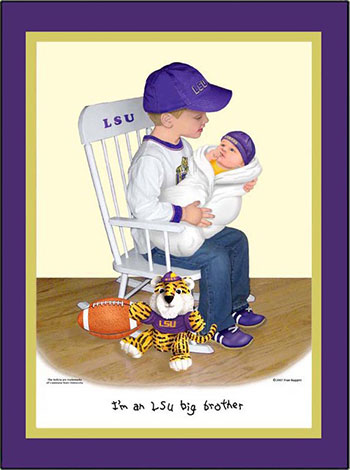 LSU Big Brother in Training