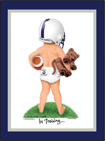 Penn State In Training Football Player