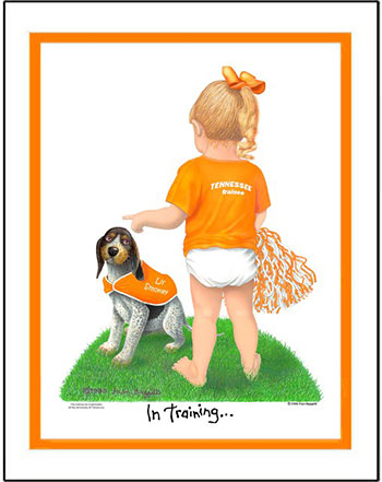 Tennessee In Training Cheerleader