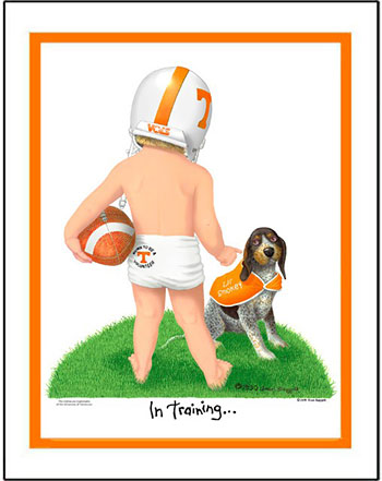 Tennessee In Training Football Player