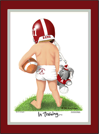 Alabama In Training Football Player